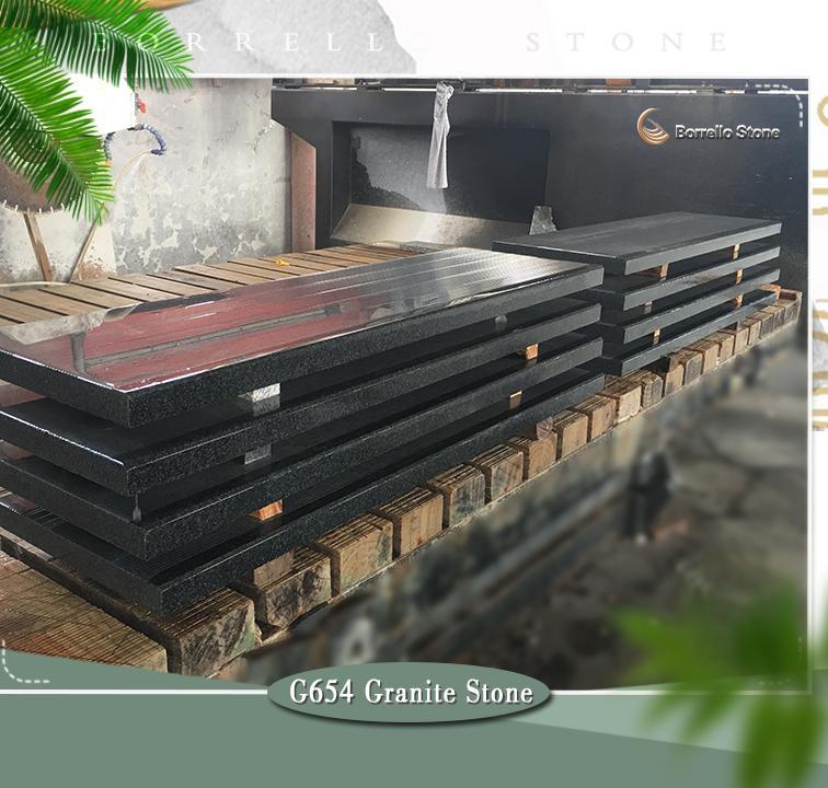 g654 granite step stone 1