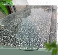 g654 sesame black granite