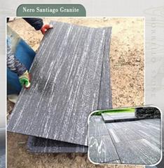 Nero Santiago grey granite