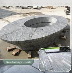 Polished Sand wave granite