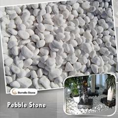 10-20mm white pebble stone