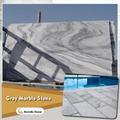 sunny grey marble slab