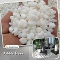 3-5mm white pebble stone