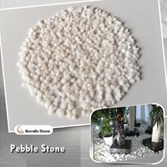 1-3mm white mini pebble stone