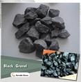 black stone gravel