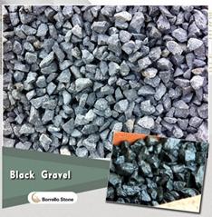 black basalt chips for airstrip