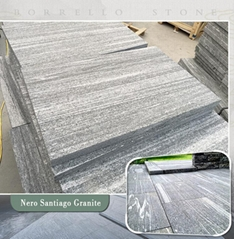G302 grey granite tile