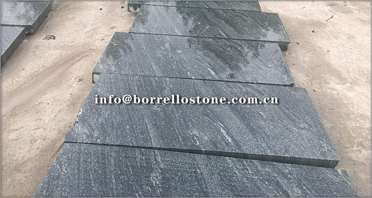 G302 grey granite step 3