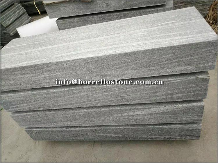 G302 grey granite step 4