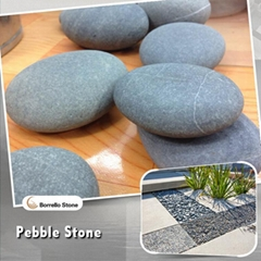 black stone river rocks