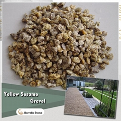 yellow granite stone aggregate