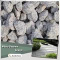 white granite stone chips