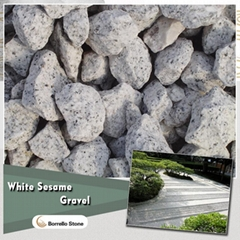 white granite stone chips