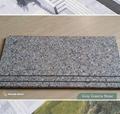 grey granite stair tread and riser