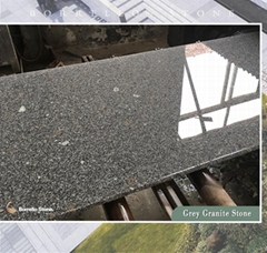 G383 grey granite slab