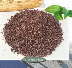 color stone granule for wall coating