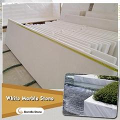 white marble windowsill