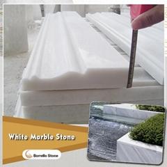 white marble skirting line