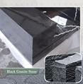 black granite step stairs 1