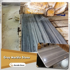 strip vein grey marble