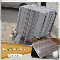 wood vein grey marble tile