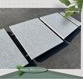 flamed white granite paving stone