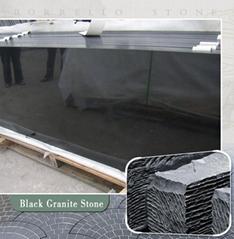 Absolute black granite countertop