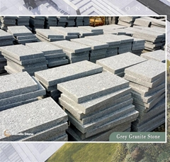 G341 flamed granite tile