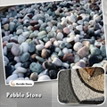 stone pebble cobble for garden