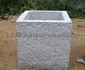 landscaping stone flower pot