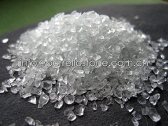 crystal white glass sand