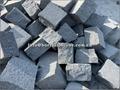dark grey granite mushroom stone
