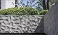 split face grey granite wall block