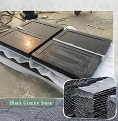 Shanxi black granite stone