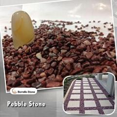 5-8mm epoxy floor pebble stone