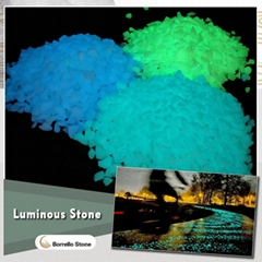 luminous stone pebble for garden
