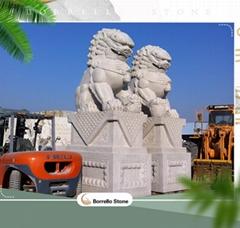 natural granite stone statues