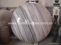 Grey Marble Ball