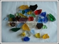 Glass Chips & Bead