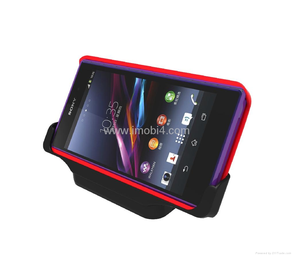 Sony Xperia Z1 Cover-mate desktop cradle docking charger ...