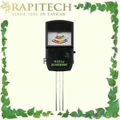 Garden Soil 4 Way Analyzer pH Moisture Fertility Light Testing