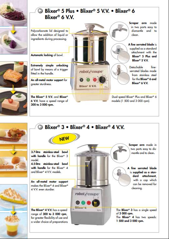 robot coupe 乳化搅拌机 3