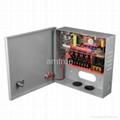 直流12V3A四分路監控電源 (SIWD1203-04C) 2