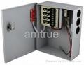 直流12V3A四分路監控後備電