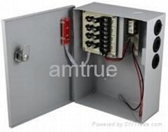 直流12V3A四分路監控後備電源 (SIHD1203-04CB)