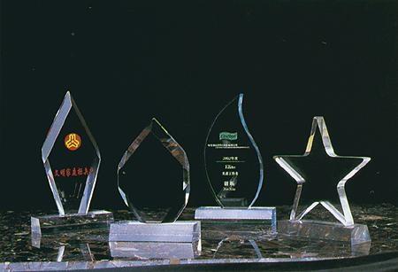 有機玻璃水晶字工藝雕刻 2