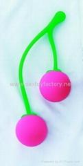 Silicone Fruit Benwa Ball, Sex Toy,