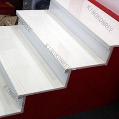 Artificial quartz stone tiles
