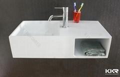 Artificial stone wall hung wash basin
