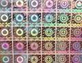 光刻鐳射標貼 點陣光柵防偽商標   性標籤 1